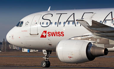 HB-IJN - Swiss Airbus A320