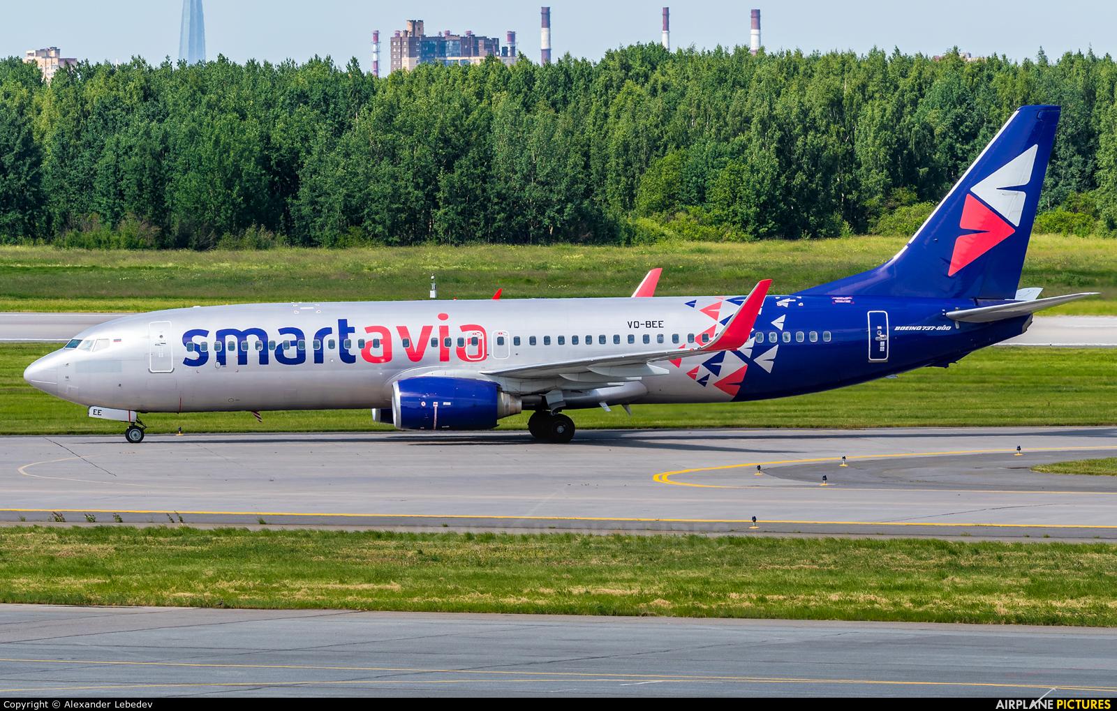 Smartavia VQ-BEE aircraft at St. Petersburg - Pulkovo