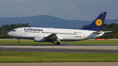 D-ABER - Lufthansa Boeing 737-300