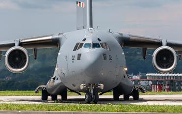 08-0002 - Strategic Airlift Capability NATO Boeing C-17A Globemaster III