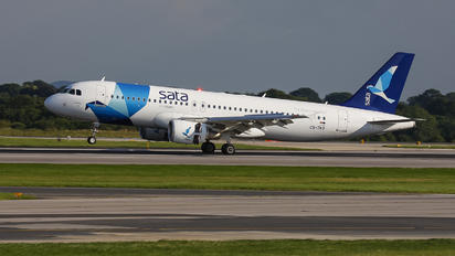 CS-TKO - SATA International Airbus A320