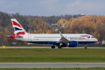 G-TTNE - British Airways Airbus A320 NEO