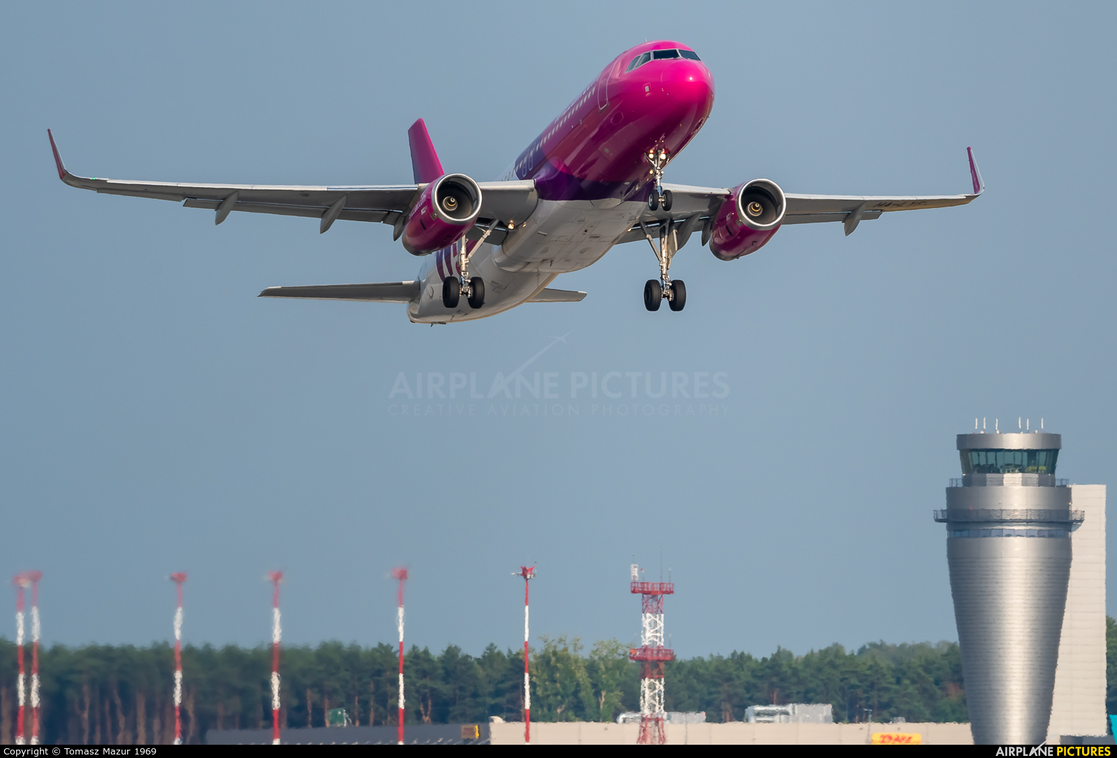 Wizz Air HA-LYF aircraft at Katowice - Pyrzowice