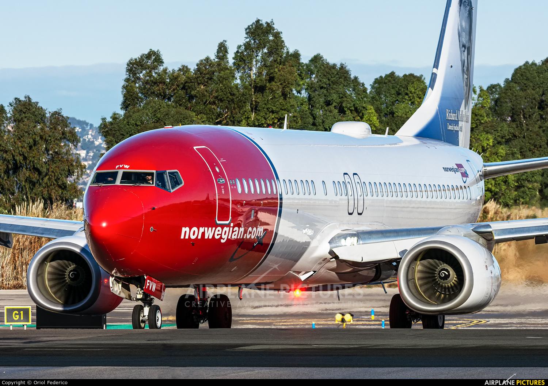 Norwegian Air International EI-FVW aircraft at Barcelona - El Prat
