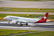 Embraer delivers 1600th E-Jet - special sticker on Helvetic E190 E2 title=
