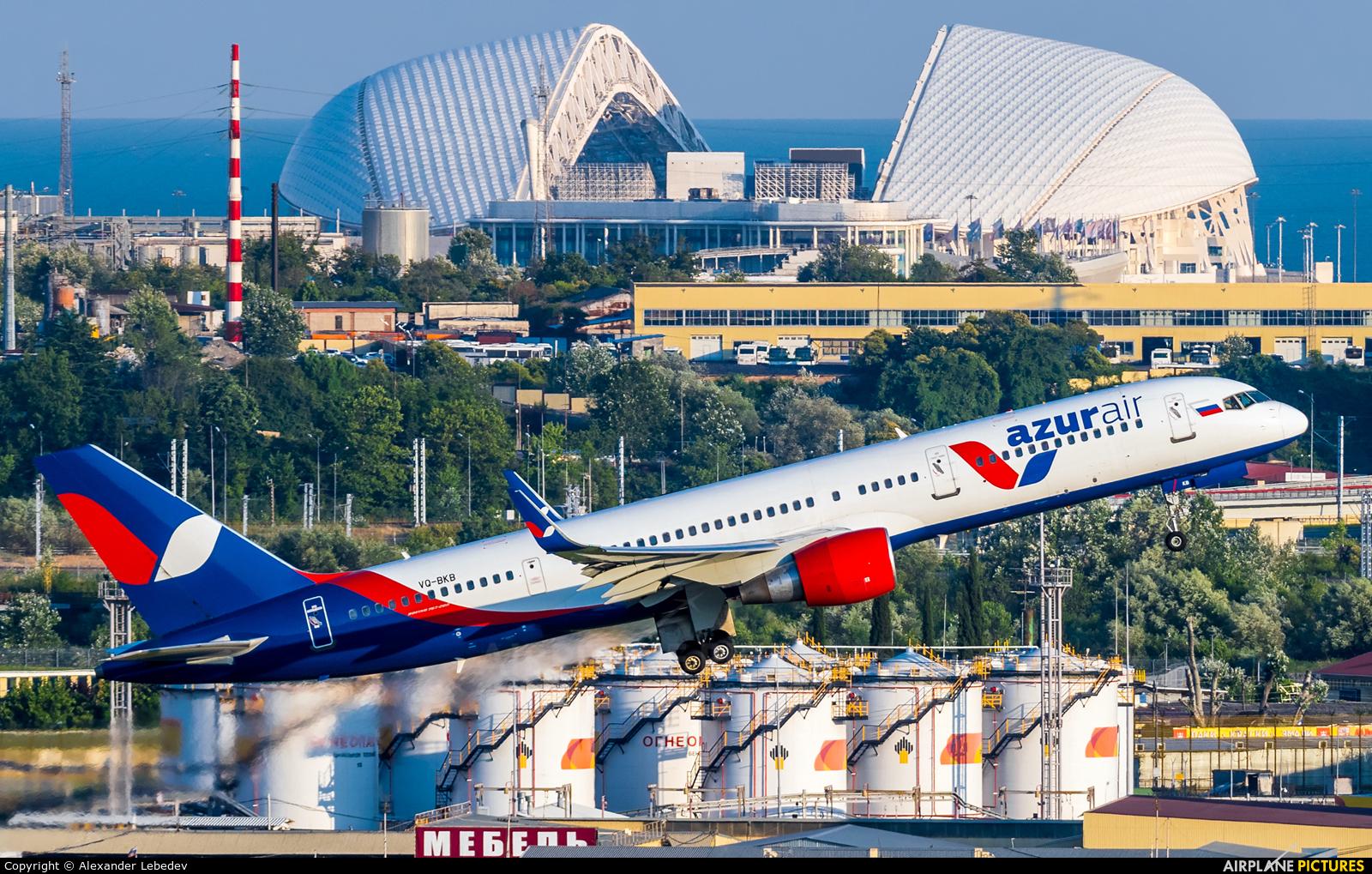 AzurAir VQ-BKB aircraft at Sochi Intl