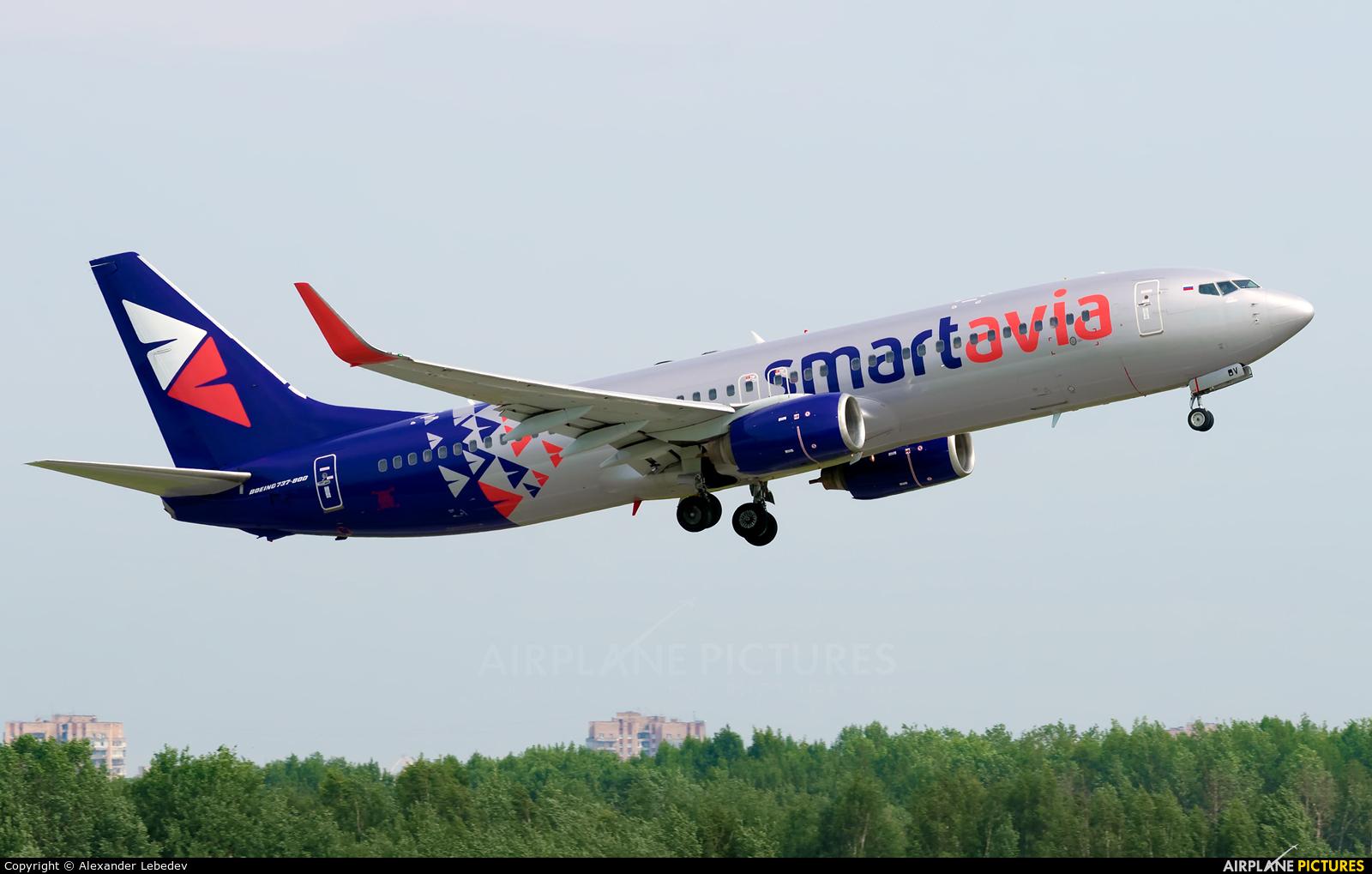 Smartavia VQ-BBV aircraft at Sochi Intl