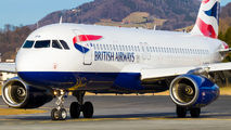 G-MIDS - British Airways Airbus A320 aircraft