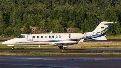 D-CQAC - Quick Air Jet Charter Learjet 45