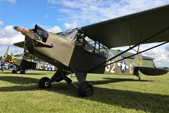 OY-ECS - Private Piper L-4 Cub