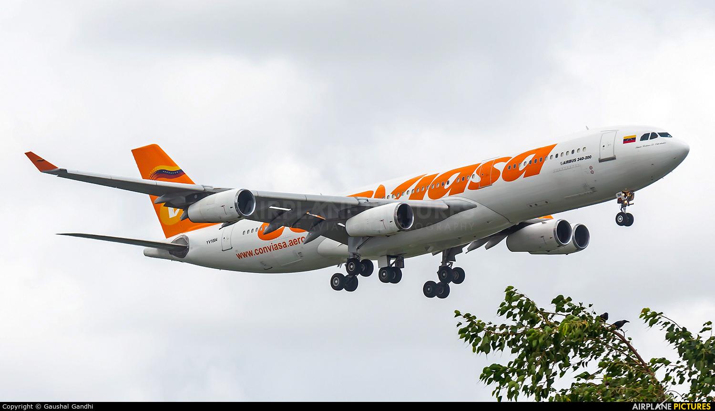 Conviasa YV1004 aircraft at Mumbai - Chhatrapati Shivaji Intl