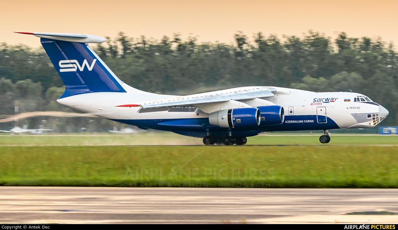 Silk Way Airlines 4K-AZ101 aircraft at Wrocław - Copernicus