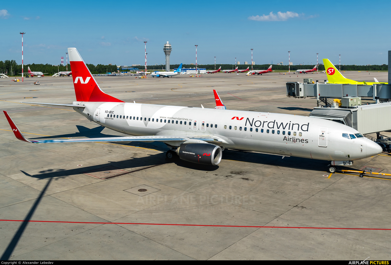 Nordwind Airlines VQ-BDC aircraft at St. Petersburg - Pulkovo