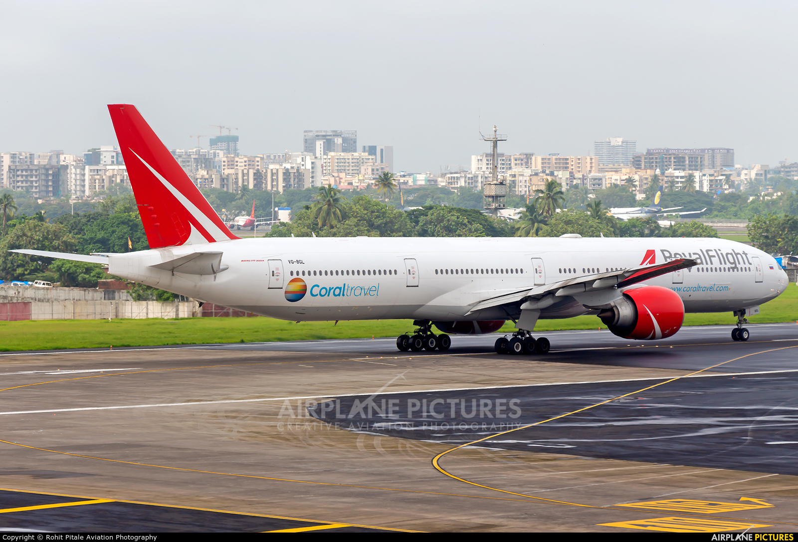 Royal Flight VQ-BGL aircraft at Mumbai - Chhatrapati Shivaji Intl