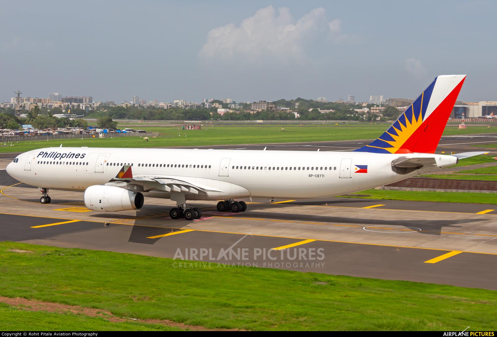 Philippines Airlines RP-C8771 aircraft at Mumbai - Chhatrapati Shivaji Intl