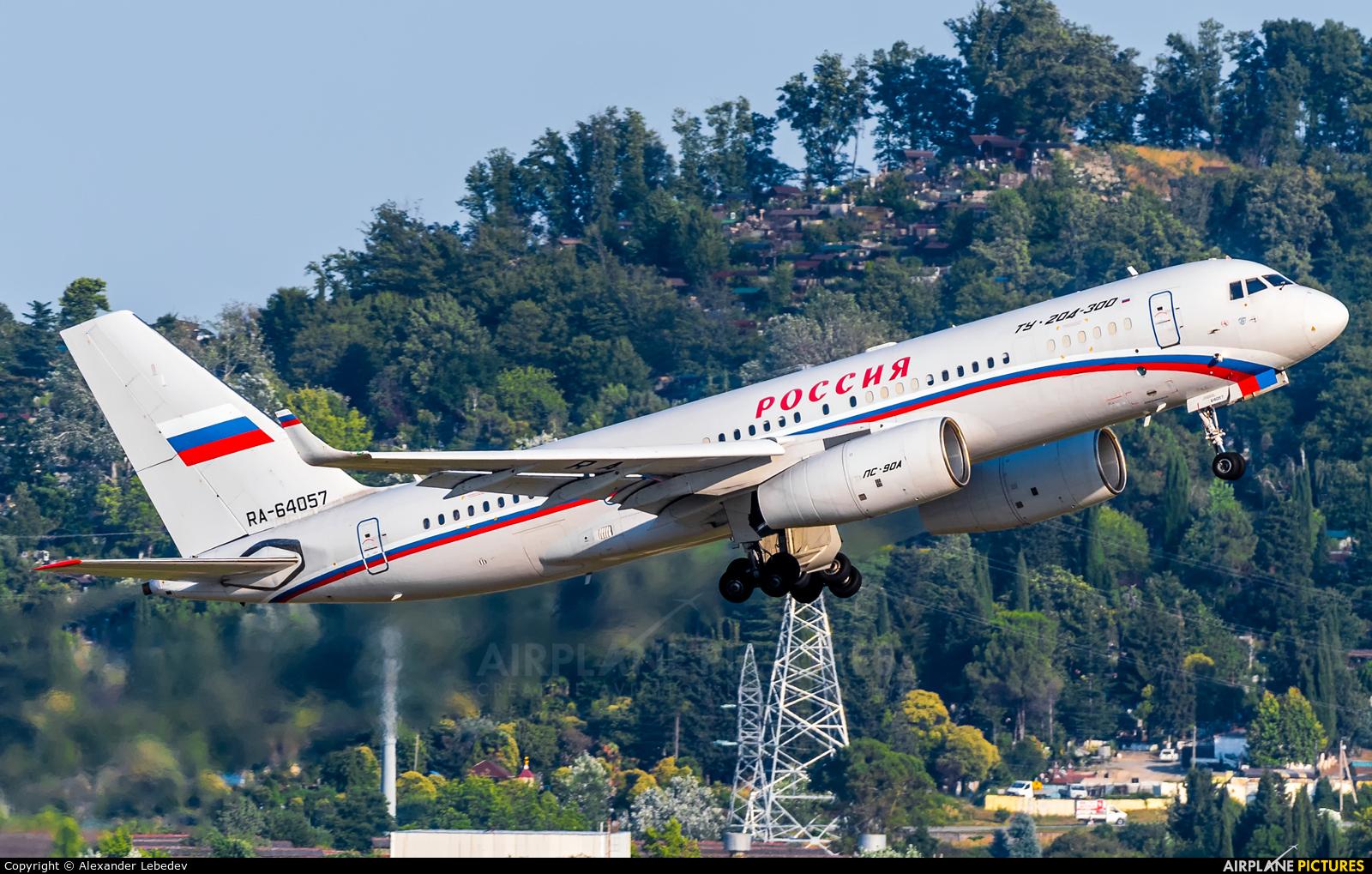Rossiya RA-64057 aircraft at Sochi Intl