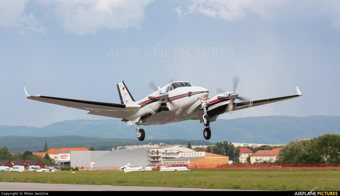 Brose D-IBFS aircraft at Prievidza