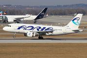 S5-AAX - Adria Airways Airbus A319 aircraft