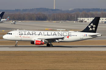 OE-LBZ - Austrian Airlines/Arrows/Tyrolean Airbus A320