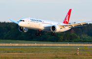 TC-LLC - Turkish Airlines Boeing 787-9 Dreamliner aircraft