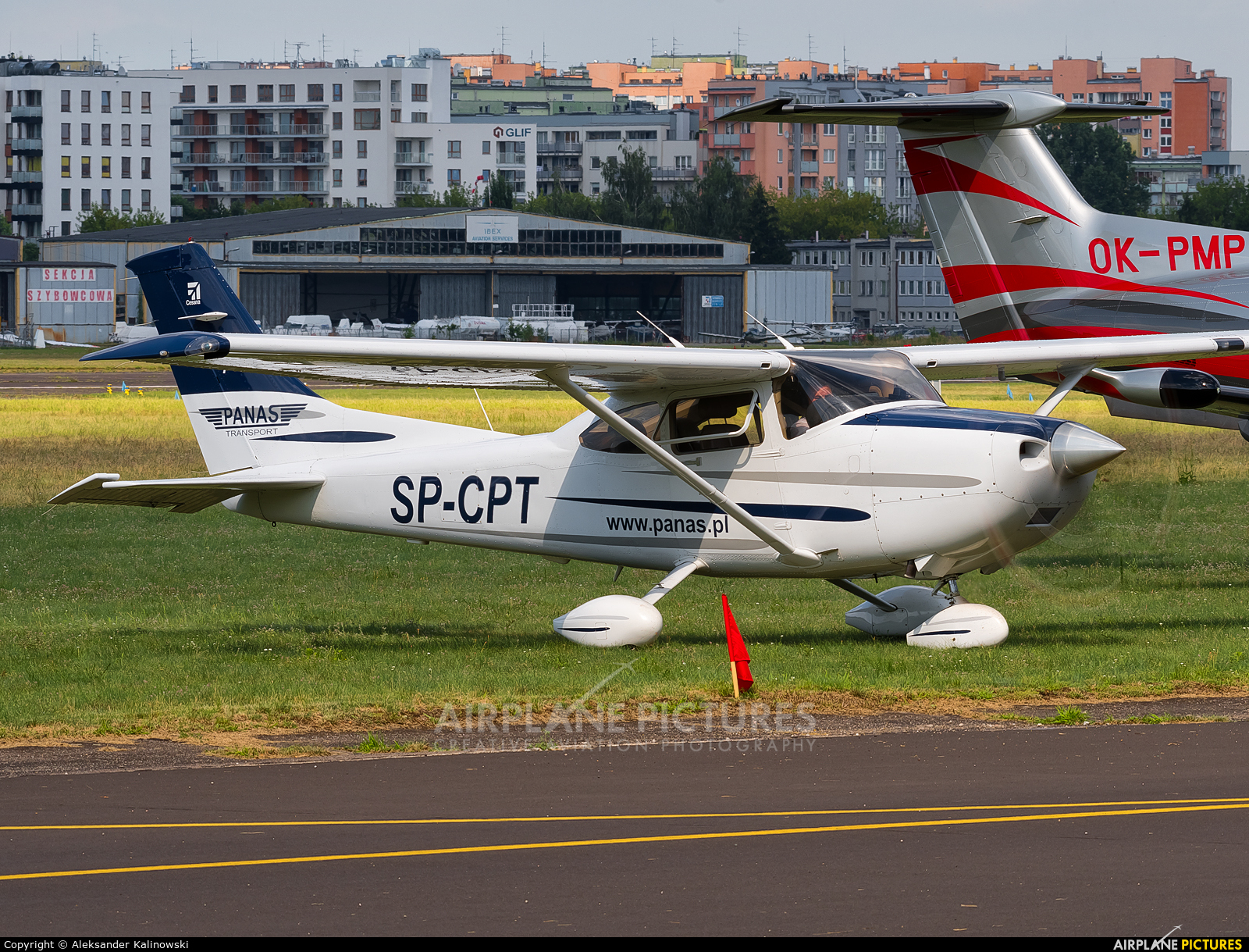 Private SP-CPT aircraft at Warsaw - Babice