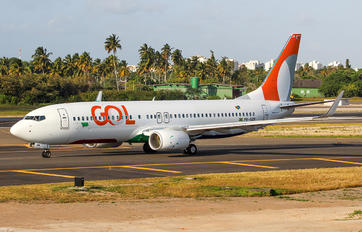 PR-GZR - GOL Transportes Aéreos  Boeing 737-8K2