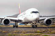 First visit of Iberia A350 to Tenerife Los Rodeos title=