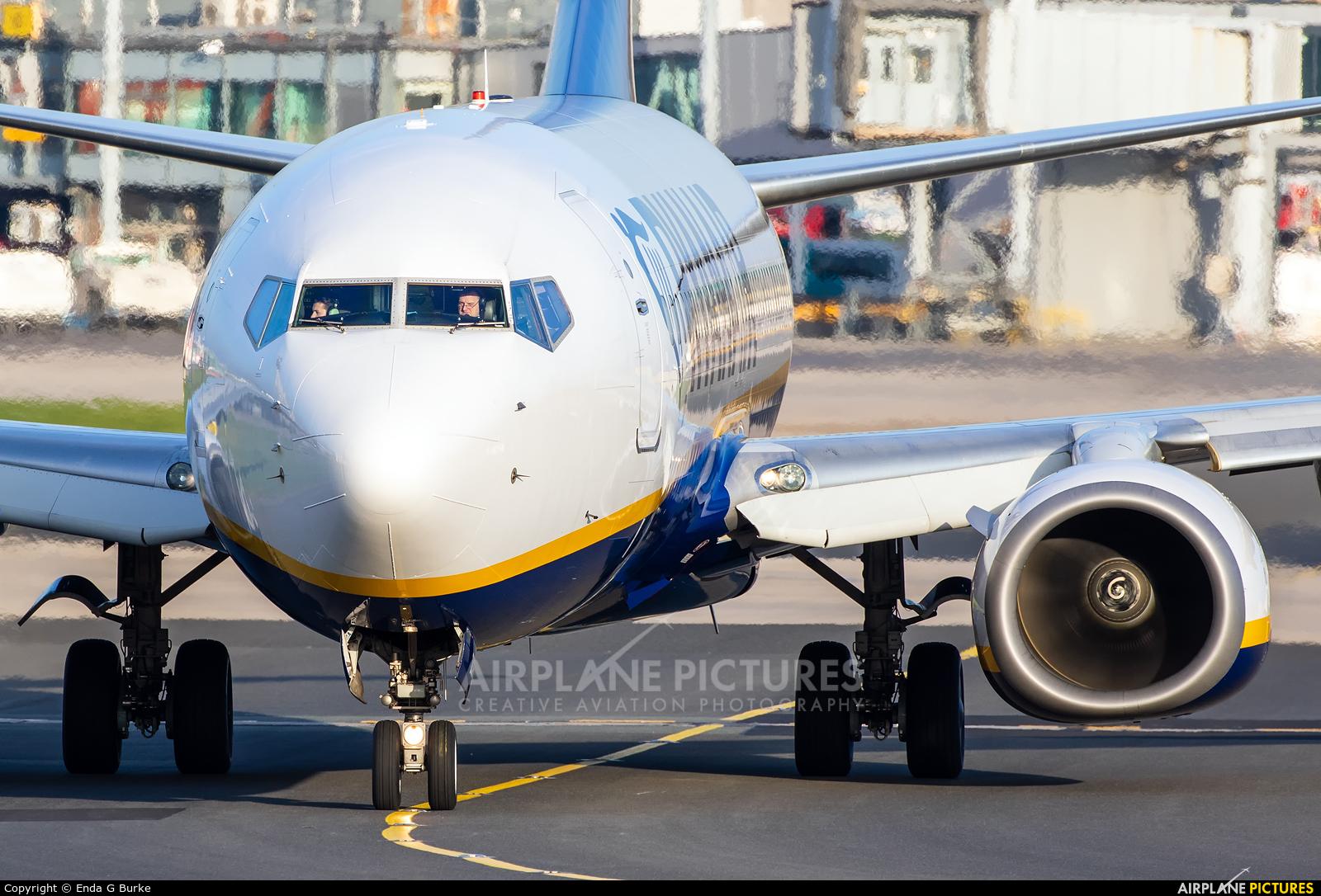 Ryanair EI-DCG aircraft at Manchester