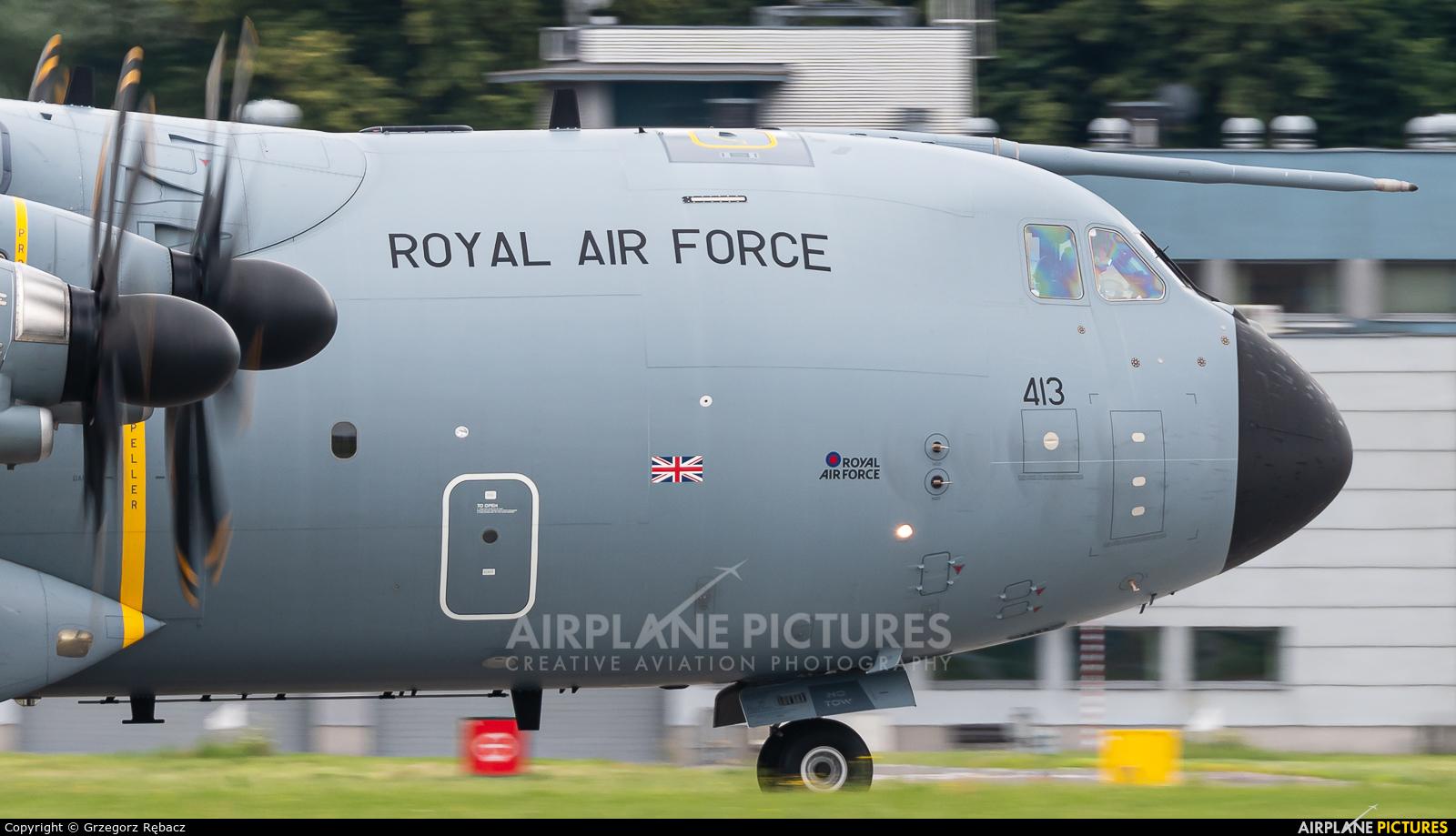 Royal Air Force ZM413 aircraft at Kraków - John Paul II Intl