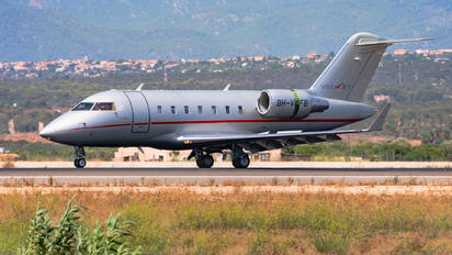 9H-VFB - Private Bombardier Challenger 605