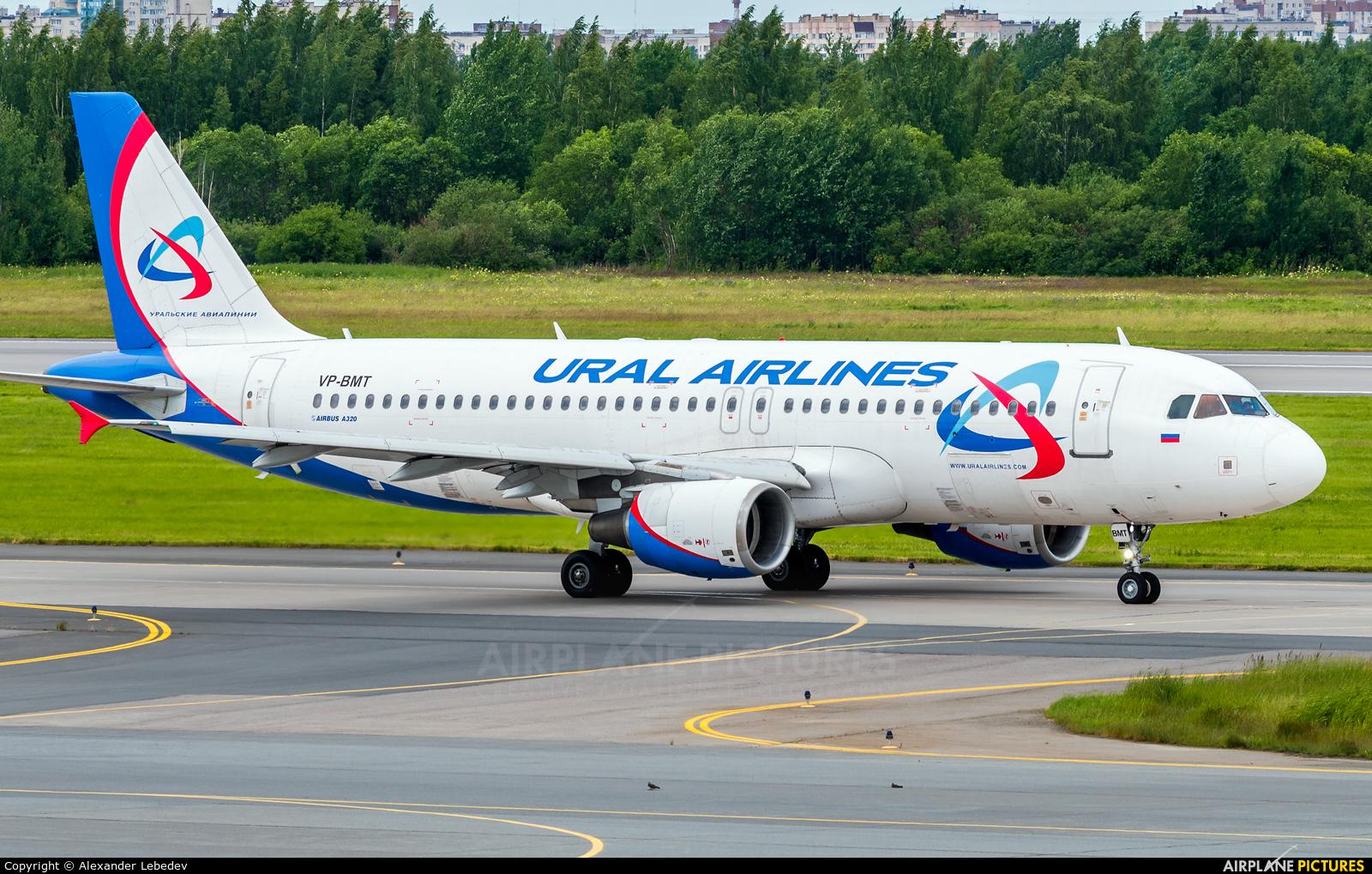 Ural Airlines VP-BMT aircraft at St. Petersburg - Pulkovo