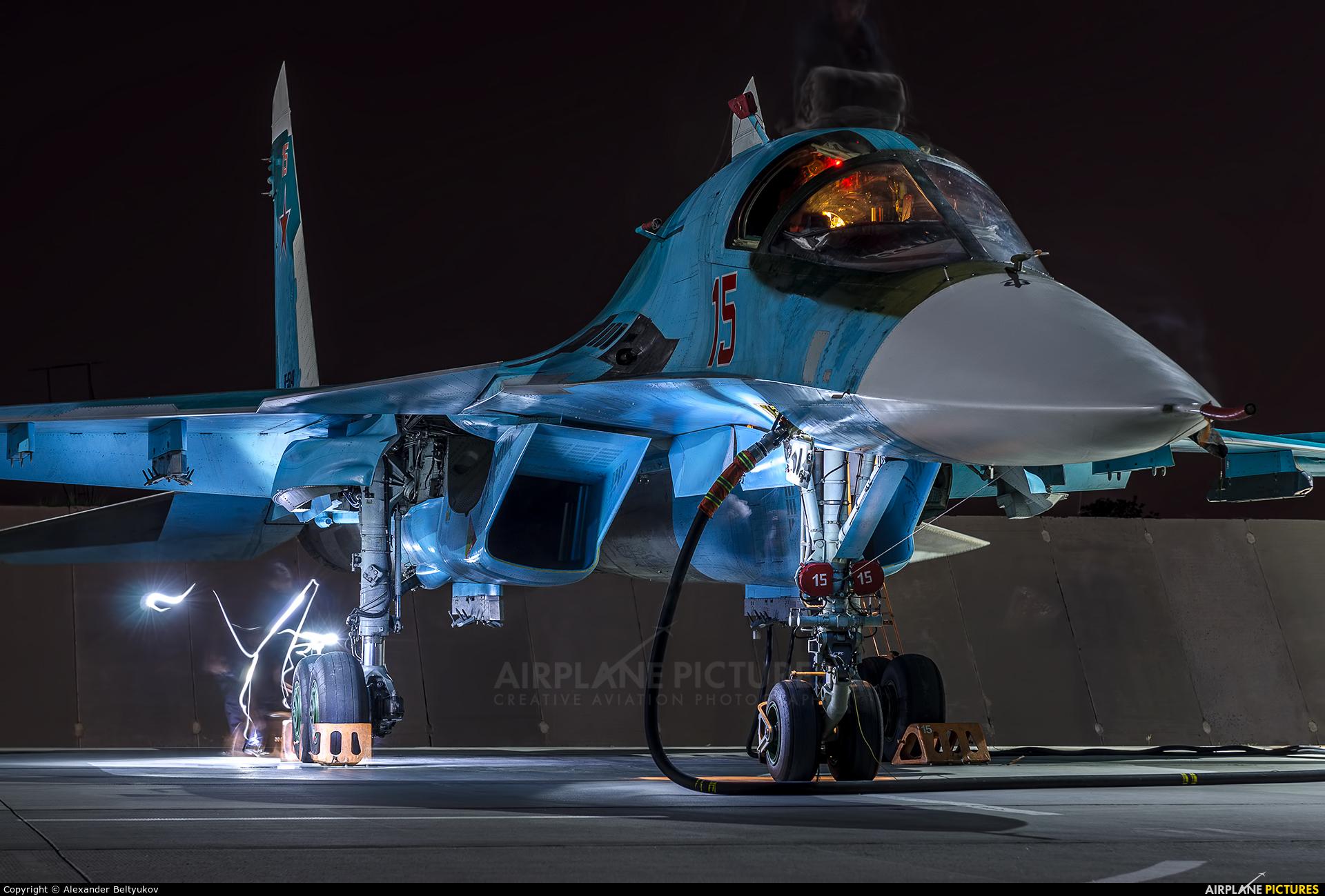 Russia - Air Force RF-95848 aircraft at Lipetsk