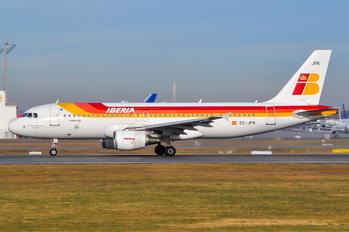EC-JFN - Iberia Airbus A320