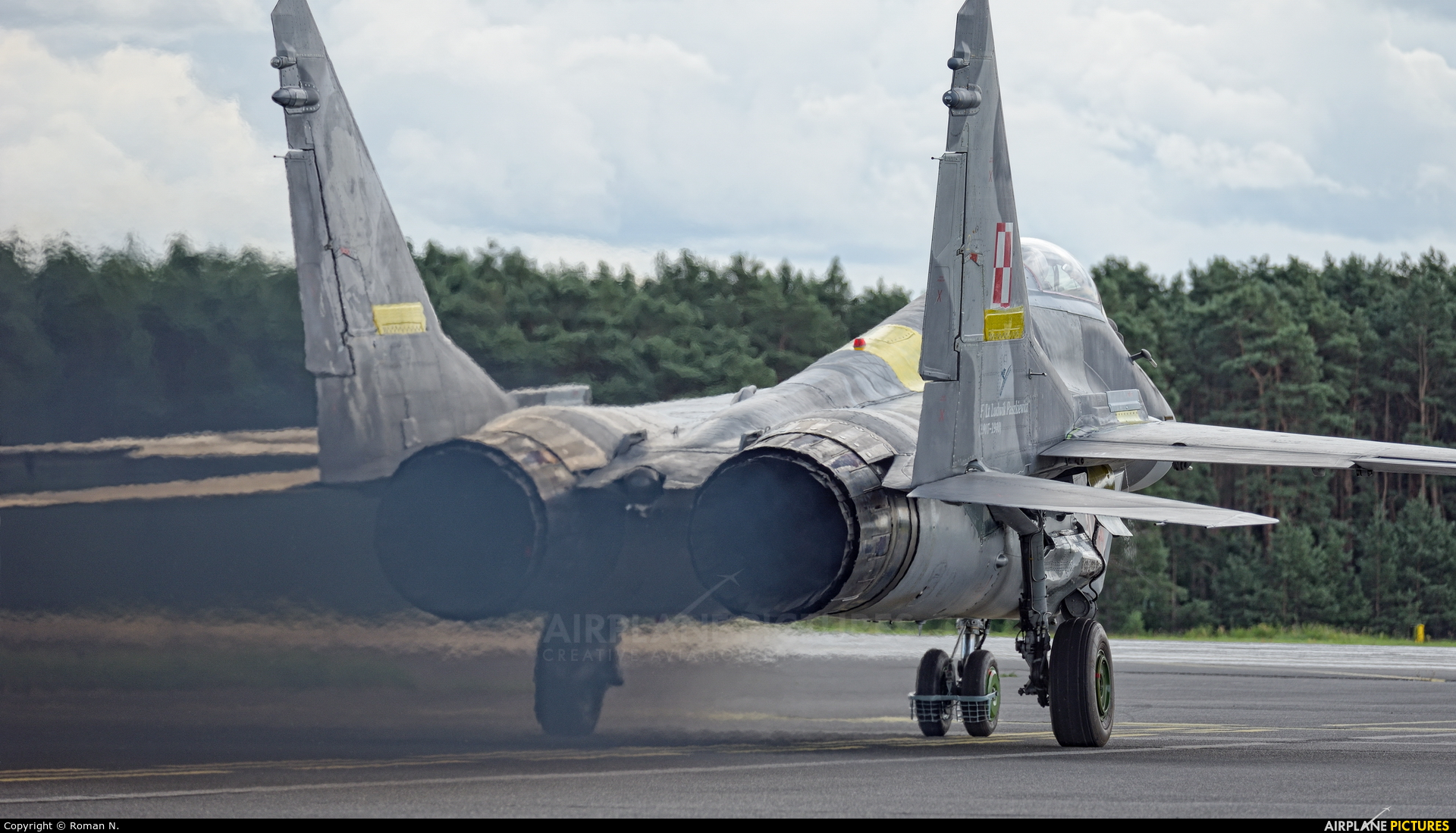 Poland - Air Force 108 aircraft at Bydgoszcz - Szwederowo