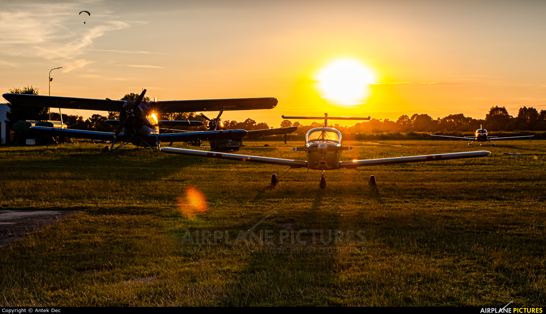 Aeroklub Wroclawski EPWS aircraft at Wrocław - Szymanów