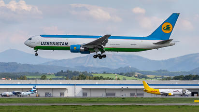 UK67001 - Uzbekistan Airways Boeing 767-300ER