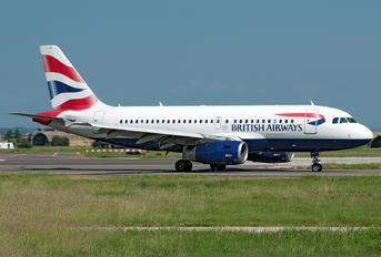 G-EUPB - British Airways Airbus A319