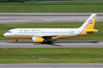 V8-RBS - Royal Brunei Airlines Airbus A320