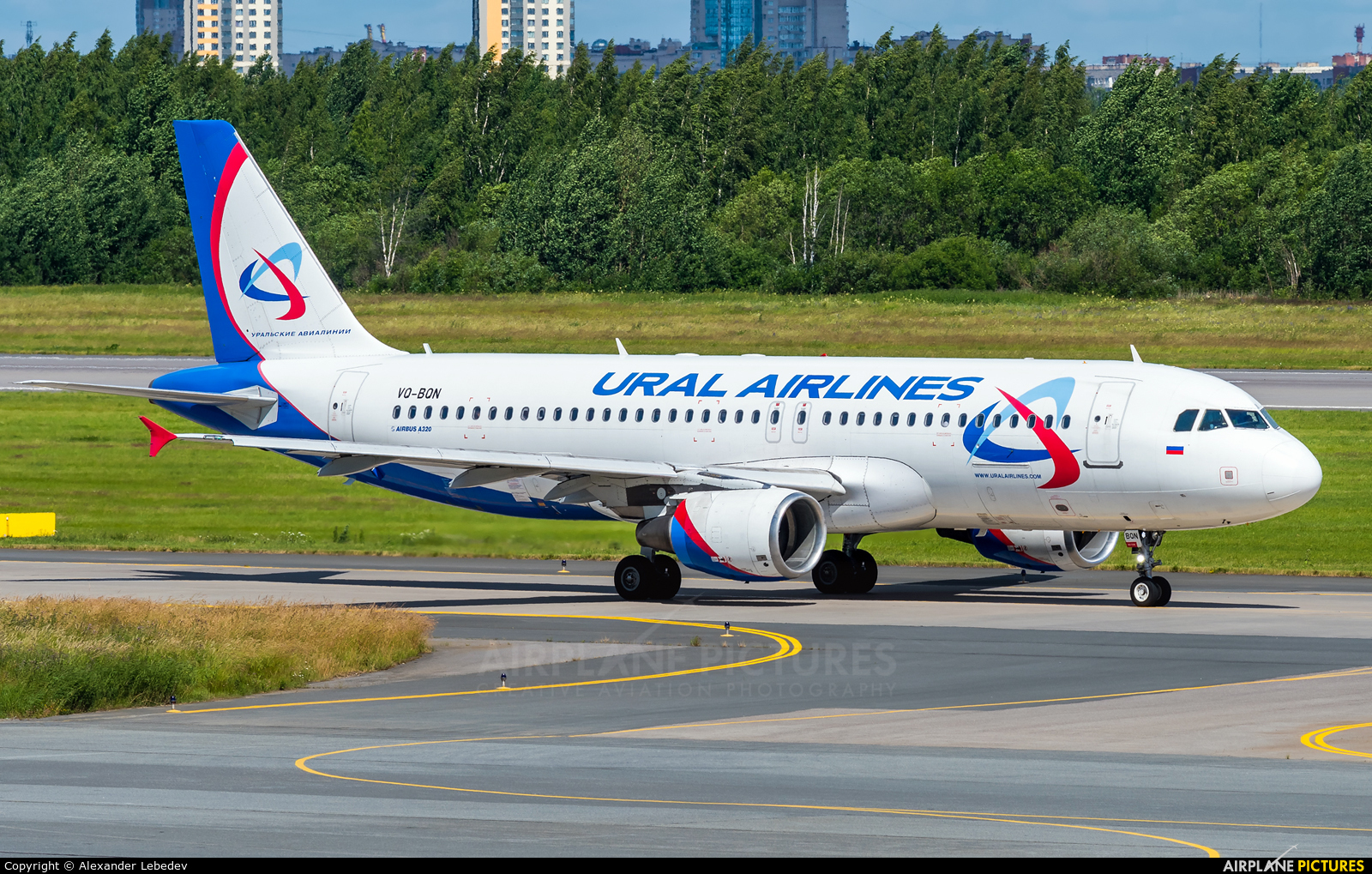 Ural Airlines VQ-BQN aircraft at St. Petersburg - Pulkovo