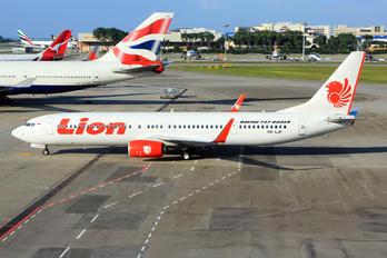 PK-LJP - Lion Airlines Boeing 737-900ER