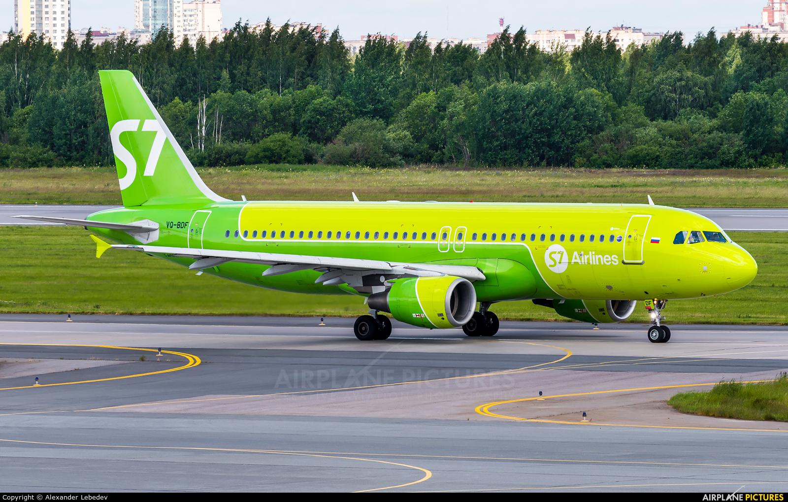 S7 Airlines VQ-BDF aircraft at St. Petersburg - Pulkovo