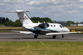 F-HERE - Astonjet Cessna 510 Citation Mustang