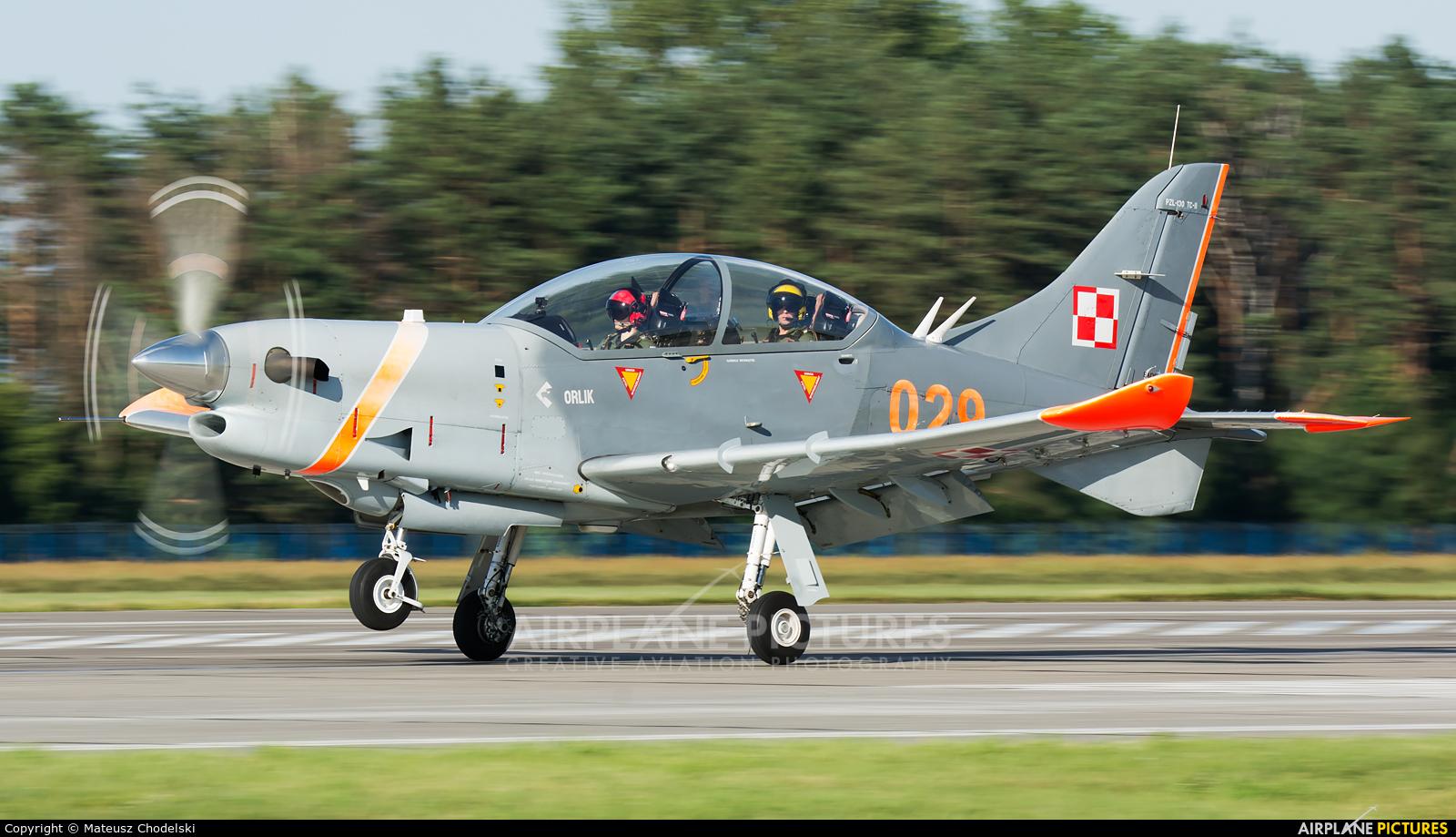 """Poland - Air Force """"Orlik Acrobatic Group"""" 029 aircraft at Dęblin"""