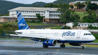 N594JB - JetBlue Airways Airbus A320