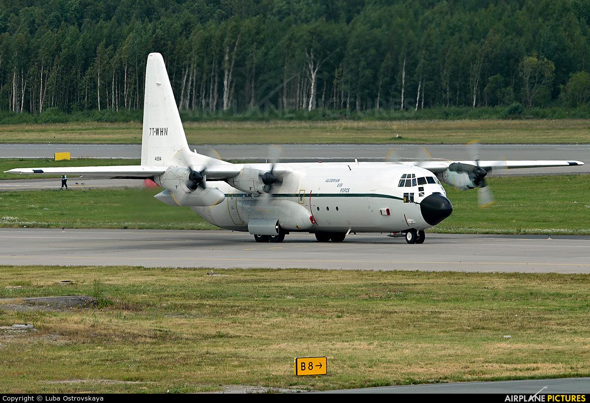 Algeria - Air Force 7T-WHN aircraft at St. Petersburg - Pulkovo