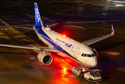 JA219A - ANA - All Nippon Airways Airbus A320 NEO aircraft