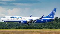 YR-BMP - Blue Air Boeing 737-800 aircraft