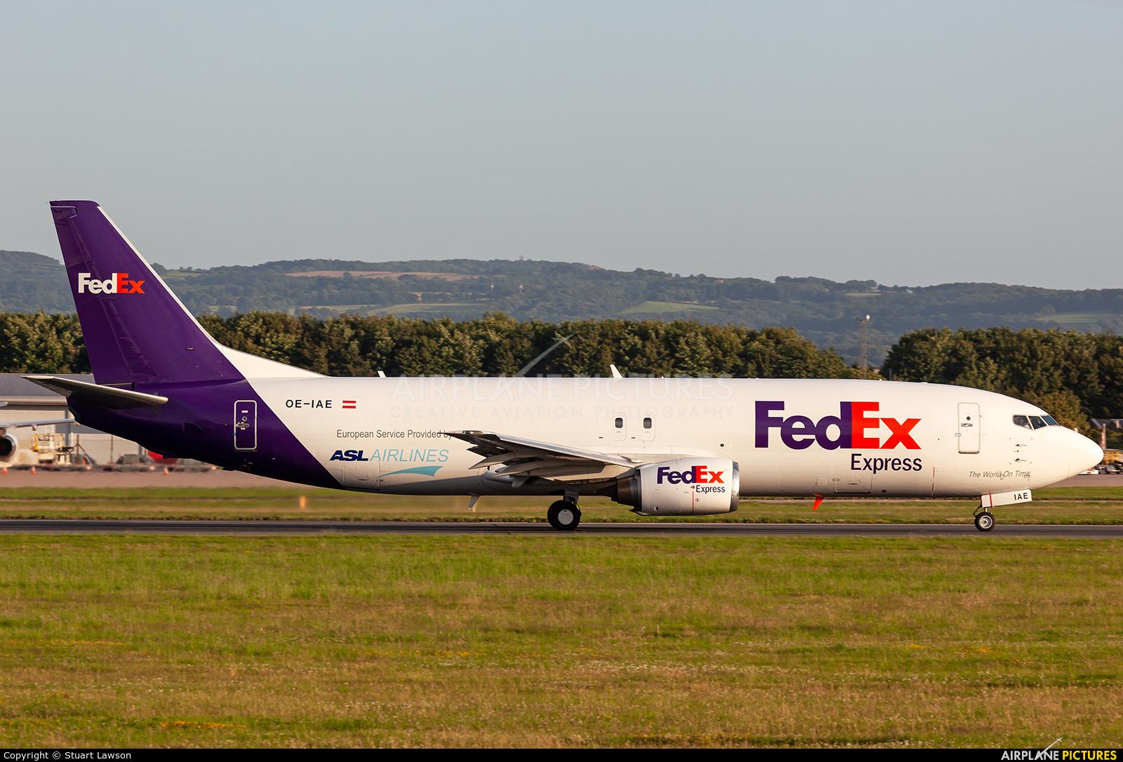 FedEx Federal Express OE-IAE aircraft at East Midlands