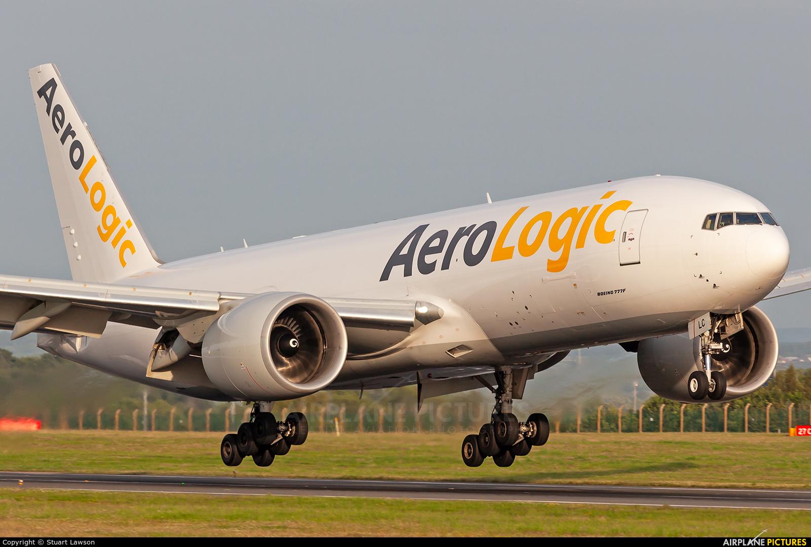 AeroLogic D-AALC aircraft at East Midlands