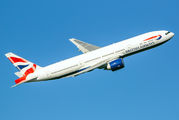 G-VIIB - British Airways Boeing 777-200 aircraft